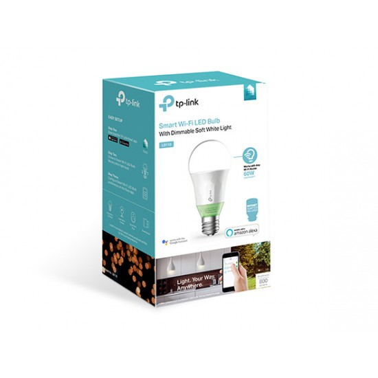 TP-LINK LB110(E27) Smart Wi-Fi LED Bulb with Dimmable Light   Price in Pakistan