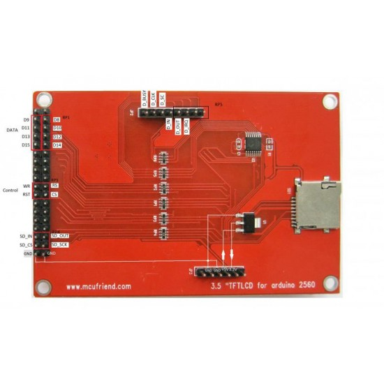 3.5''  TFT LCD Module for Arduino  Price in Pakistan