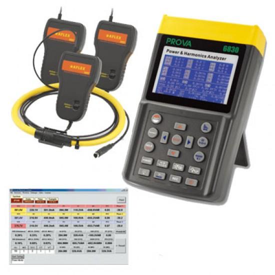 PROVA 6830A + AFLEX 3006 Power and Harmonics Analyzer (6000A)  Price in Pakistan