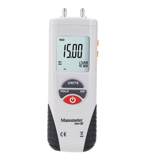 HT-1890 Digital Manometer Differential Air Pressure Gauge Meter Tester  Price in Pakistan