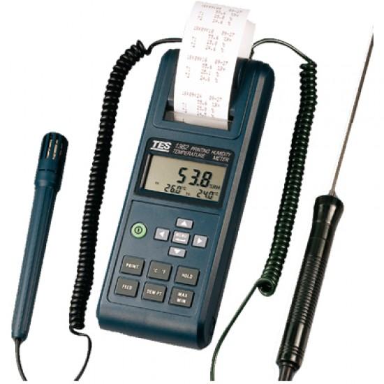 TES 1362 Printing Humidity Temperature Meter  Price in Pakistan