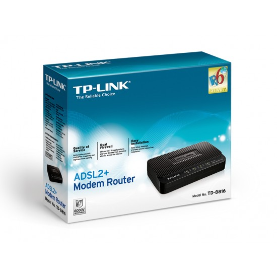 TP-LINK TD-8816 ADSL2+ Modem Router  Price in Pakistan