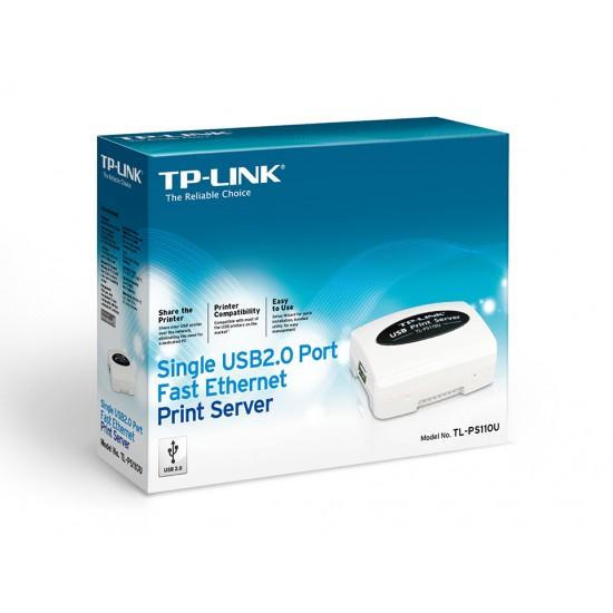 TP-Link TL-PS110U Single USB2.0 Port Fast Ethernet Print Server  Price in Pakistan