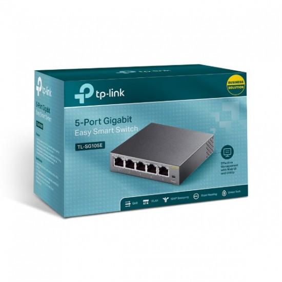 TP-LINK TL-SG105E 5-Port Gigabit Easy Smart Switch  Price in Pakistan