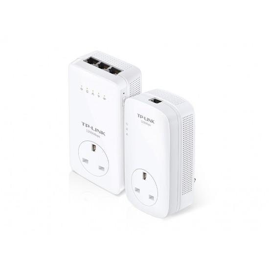 TP-LINK TL-WPA8630P KIT AV1200 Gigabit Passthrough Powerline ac Wi-Fi Kit  Price in Pakistan