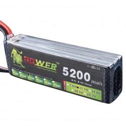 11.1V 5200mah 3S Lipo Battery