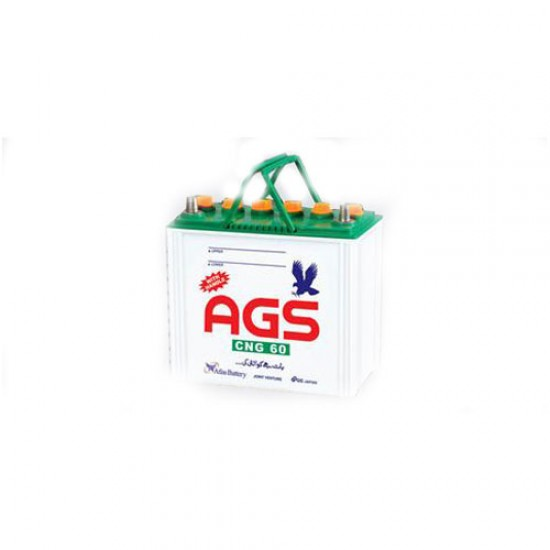 AGS CNG60 12V Light Battery  Price in Pakistan