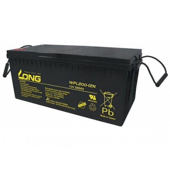 Long Lead-acid battery 12V 200AH