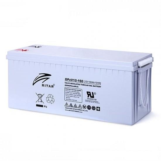 Ritar OPZV 12V 160AH Tubular Battery