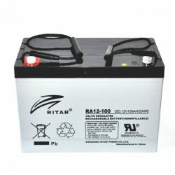 Ritar Deep Cycle AGM Battery 12V 100 Ah
