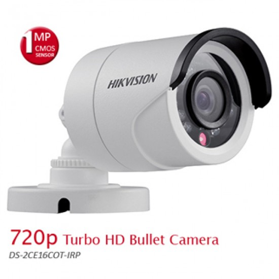 Hikvision DS-2CE16C0T-IRP 720P HD IR Bullet Camera  Price in Pakistan