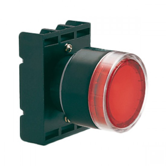 Lovato Electric LED Pilot Light With Mounting Block Red  Price in Pakistan