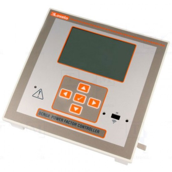 Lovato Electric DCRG8 12 Steps Power Factor Controller   Price in Pakistan