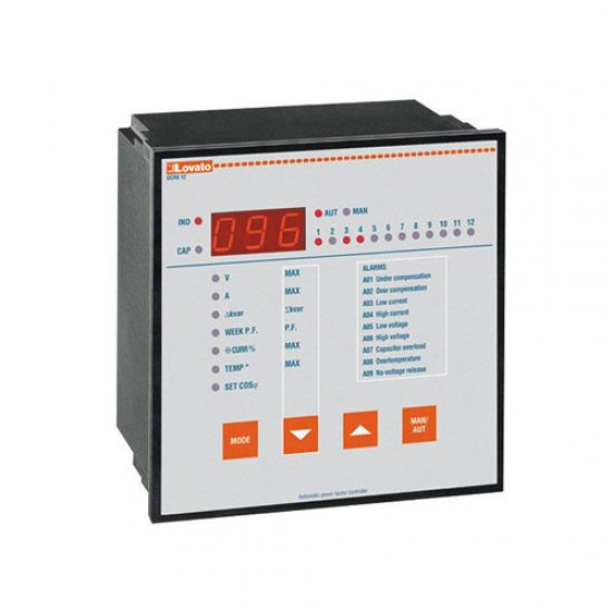 Lovato Electric DCRK8 Power Factor Controller   Price in Pakistan