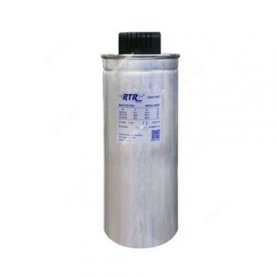 RTR 25 KVAR 460V 50 Hz 3 Phase Cylindrical Power Capacitor  Price in Pakistan