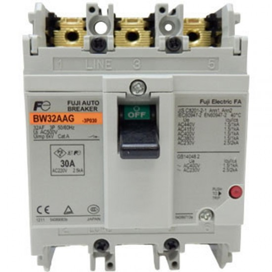 Fuji Moulded Case Circuit Breaker BW32-AAG  Price in Pakistan