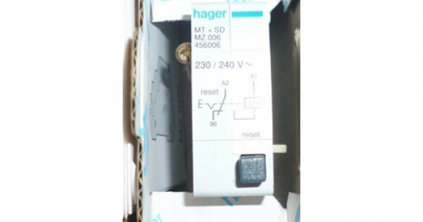 Hager MZ006 Under Voltage Release 230VAC For Hager Breaker