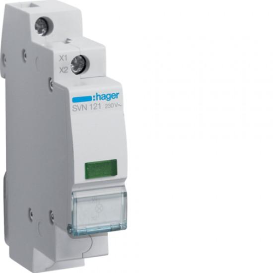 Hager SVN121 Green LED Indicator light 230VAC  Price in Pakistan