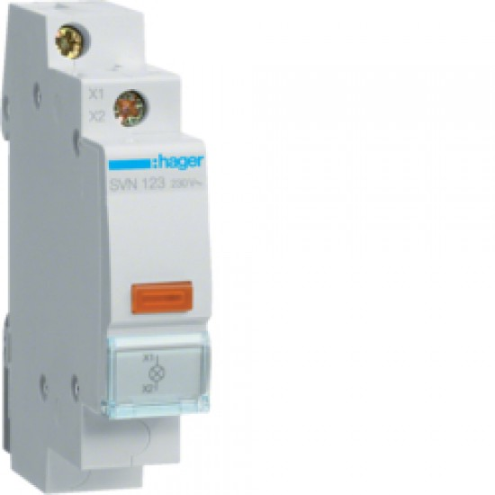 Hager SVN123 Orange LED Indicator light 230VAC  Price in Pakistan