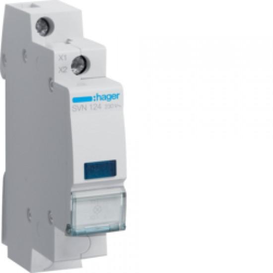 Hager SVN124 Blue LED Indicator light 230VAC  Price in Pakistan