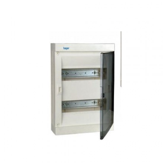 Hager VF24TB Flush Mounting Device (with Transparent Door)  Price in Pakistan