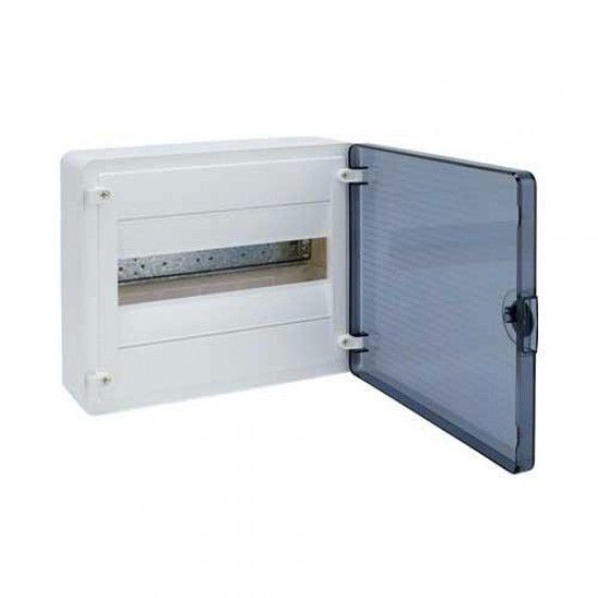 Hager VS12TA Surface Mounting Device (with Transparent Door)  Price in Pakistan