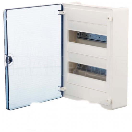 Hager VS24TA Surface Mounting Device (with Transparent Door)  Price in Pakistan