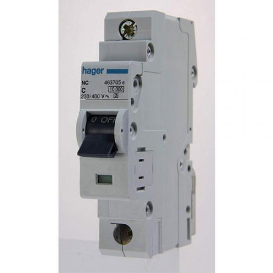 Hager NC-1 Single Pole 10KA-15KA Circuit Breaker  Price in Pakistan