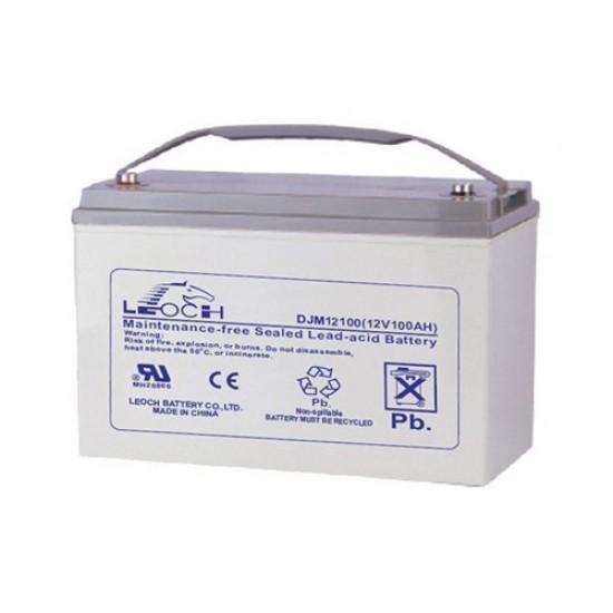 Leoch Battery - LP Series - 12 V - 100 AH - T3 Terminal