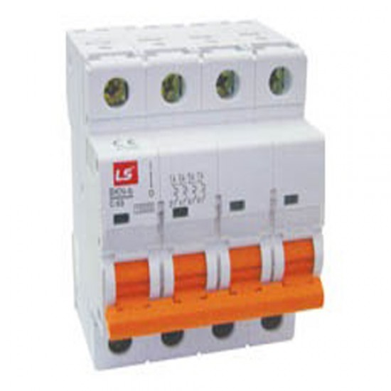 LS BKN-b Miniature Circuit Breaker 4 Pole  Price in Pakistan