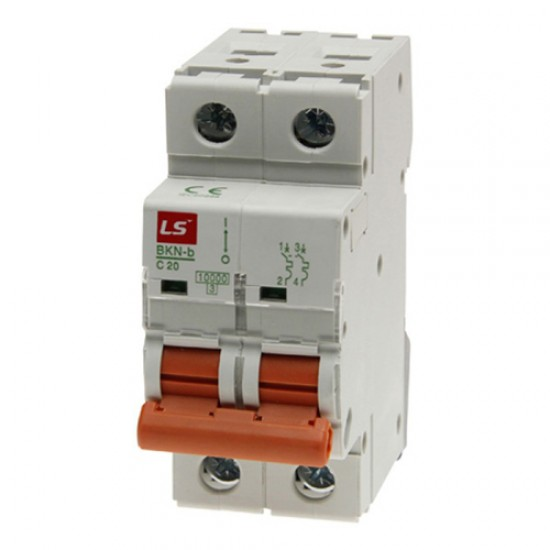 LS BKN-b Miniature Circuit Breaker Double Pole  Price in Pakistan