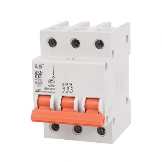 LS BKN Miniature Circuit Breaker 3 Pole