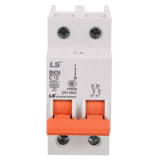 LS BKN Miniature Circuit Breaker Double Pole