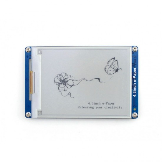 4.3 Inch Serial Interface Electronic Paper Display  Price in Pakistan