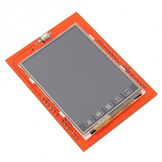 2.4 inch TFT LCD Shield SD Socket Touch Panel Module for Arduino UNO  Price in Pakistan