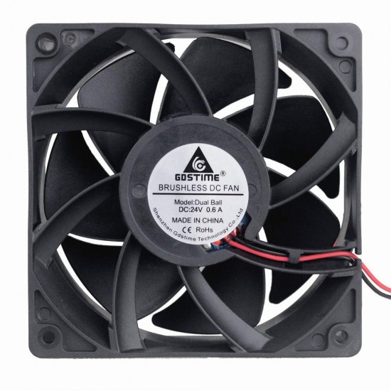 24V 120mm Brushless Cooling Fan  Price in Pakistan