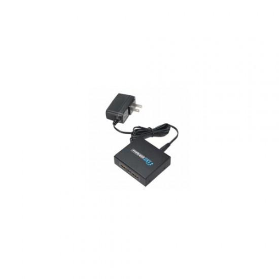 Black Copper   HDMI Splitter 2 Port  Price in Pakistan