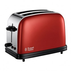 Russell Hobbs 18951-56 Colour Flame Red Toaster