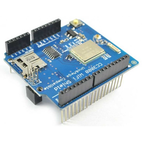 Arduino CC3000 WiFi Shield