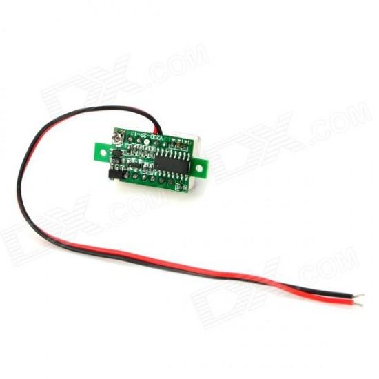 Mini Digital Display DC Voltmeter 3-30V  Price in Pakistan