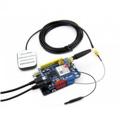 Waveshare SIM808 GSM/GPRS/GPS Shield with Antenna and Adapter