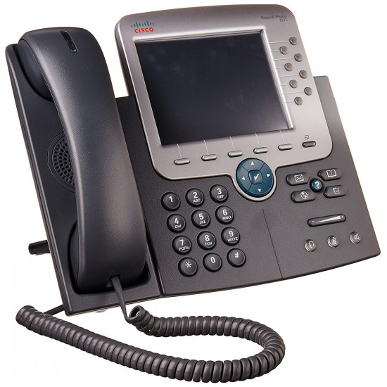 Cisco CP7975-K9 UC Phone, Gig Ethernet