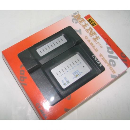 Black Copper Mini Pro Lan Cable Tester  Price in Pakistan