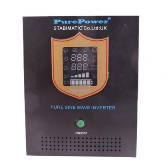 Stabimatic SSI-2000 - 1400W/24 - PURE SINE WAVE INVERTER WITH CHARGER  Price in Pakistan