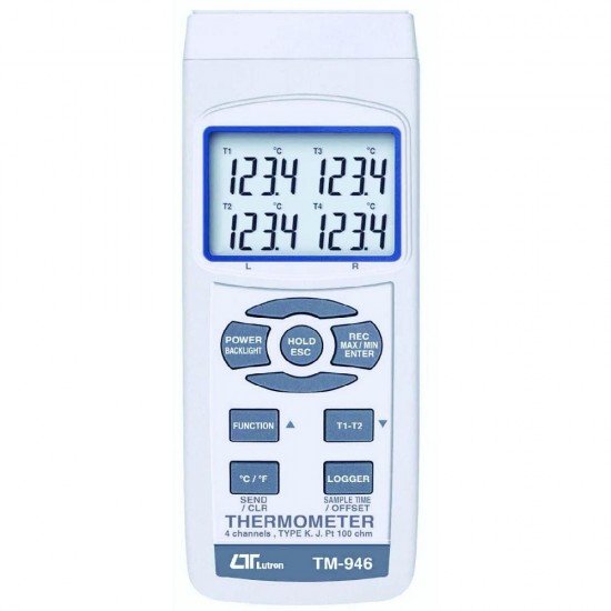 Lutron TM-946 - 4 Channels Thermometer  Price in Pakistan