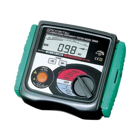 Kyoritsu 3007A Digital Insulation / Continuity Testers  Price in Pakistan