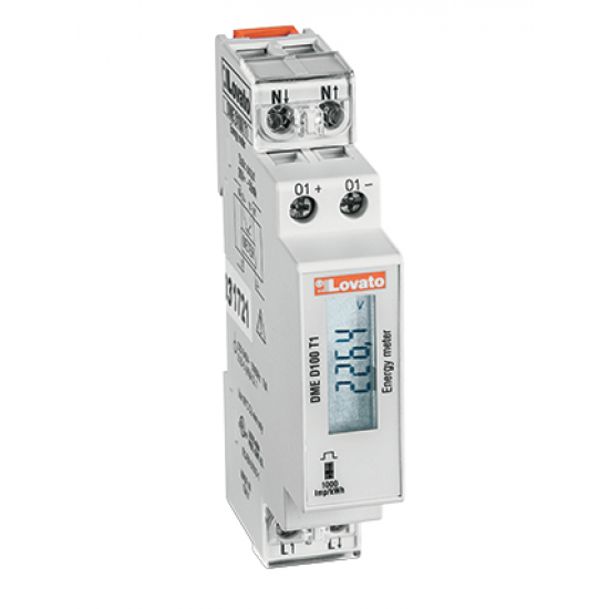 Lovato Electric DME D100 T1 Digital Meter (Single Phase)
