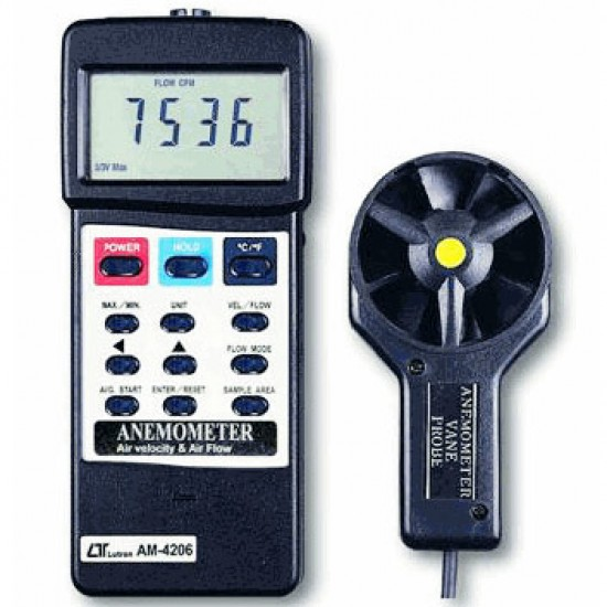 LUTRON AM-4206 Digital Portable Anemometer  Price in Pakistan