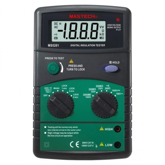 Mastech MS5201 Digital Insulation Tester  Price in Pakistan