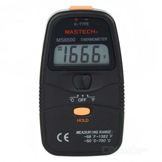 MASTECH MS6500 Handheld Digital Temperature Meter Sensor  Price in Pakistan